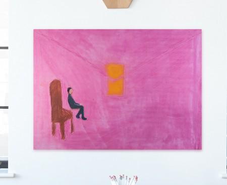 Sitting (canva)