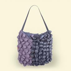 BurBur Tote Bag Lavender/Concrete