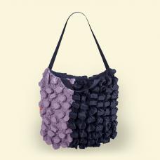 BurBur Tote Bag Lavender/Coal