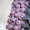 BurBur Tote Bag Concrete/Lavender