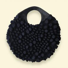 BurBur Round Bag [Coal]