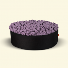 BurBur Round Pouf Lavender 25 cm