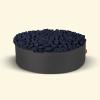 BurBur Round Pouf Coal Ø70cm x 25cm