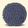 BurBur Round Pouf Concrete 25 cm
