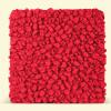 BurBur Square Pouf Urban Red 70cm x 70cm x 25cm