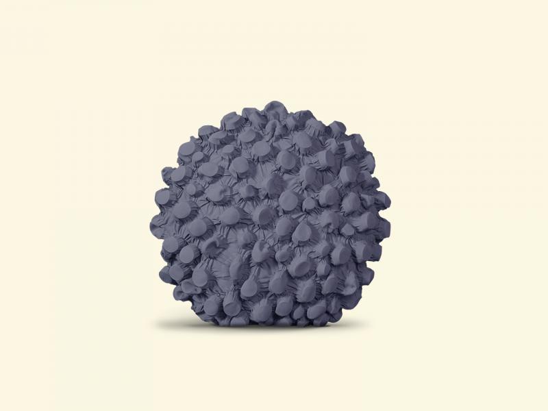 BurBur Round Cushion Concrete Ø 40 cm
