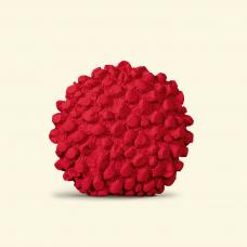 BurBur Round Cushion Urban Red Ø 40 cm
