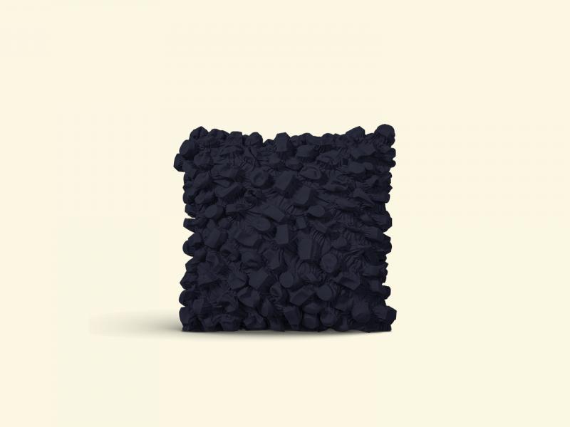 BurBur Square Cushion Coal 40 x 40 cm