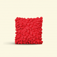 BurBur Square Cushion Urban Red 40 x 40 cm