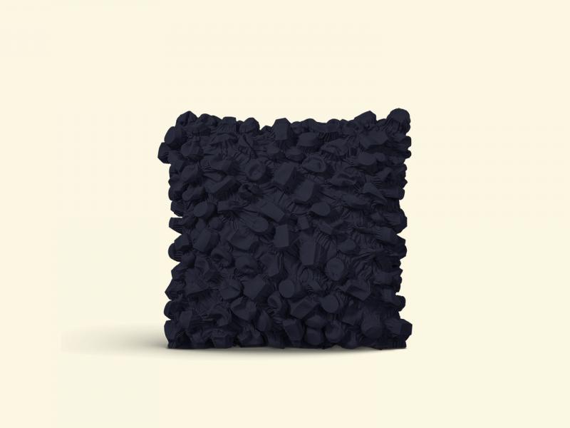 BurBur Square Cushion Coal 45 x 45 cm