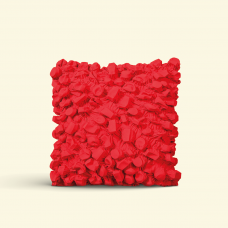 BurBur Square Cushion Urban Red 45 x 45 cm