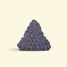 BurBur Triangle Cushion Concrete 40 cm