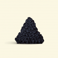 BurBur Triangle Cushion Coal 40 cm