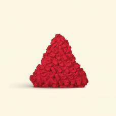 BurBur Triangle Cushion Urban Red 40 cm