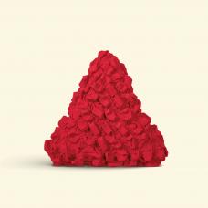 BurBur Triangle Cushion Urban Red 45 cm