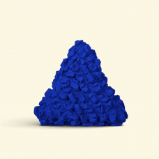 BurBur Triangle Cushion Cornflower 45 cm