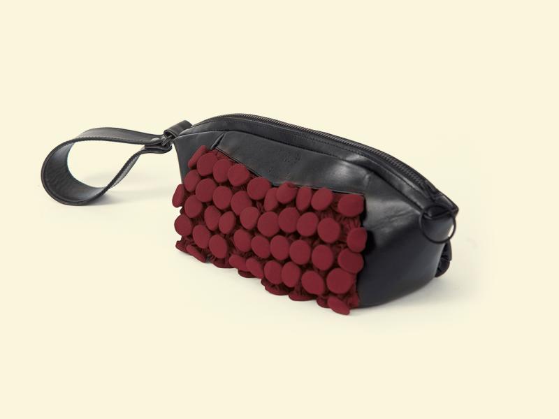 BurBur Fugu Bag [Royal Red]