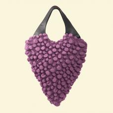 BurBur Oversized Rhombus Bag [Fuchsia]
