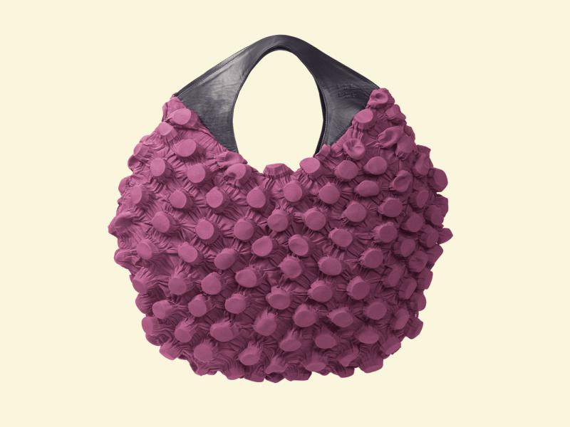 BurBur Round Bag [Fuchsia]