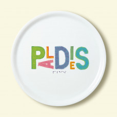 """Porcelain plate - """"PALDIES"""" Ø32 pica plate"""